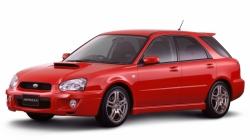 Автомобильные коврики EVA Subaru Impreza II GD/GG универсал, правый руль (2000-2007)