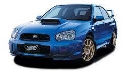 Автомобильные коврики EVA Subaru Impreza II GD/GG седан (2000-2007)