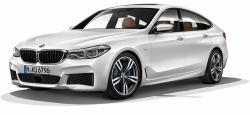 Автомобильные коврики EVA BMW 6 G32 Grand Turismo (2017->)