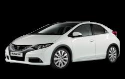 Автомобильные коврики EVA Honda Civic IX хетчбек (2011-2015)