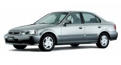 Автомобильные коврики EVA Honda Civic VI седан, правый руль (1996-2000)