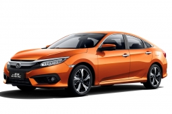 Автомобильные коврики EVA Honda Civic X хетчбек (2015->)