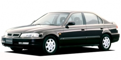 Автомобильные коврики EVA Honda Domani II, правый руль (1997-2000)