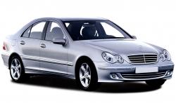Автомобильные коврики EVA Mercedes-Benz C W203 4WD (2000-2006)
