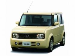 Автомобильные коврики EVA Nissan Cube Cubic II Z11, правый руль (2002-2008)