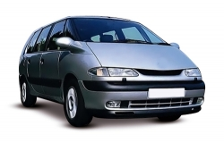 Автомобильные коврики EVA Renault Espace III (1996-2002)