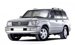 Автомобильные коврики EVA Toyota Land Cruiser 100, 7 мест (1999-2007)