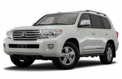 Автомобильные коврики EVA Toyota Land Cruiser 200, 7 мест (2012->)