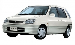 Автомобильные коврики EVA Toyota Raum I, правый руль (1997-2003)
