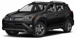 Автомобильные коврики EVA Toyota RAV4 IV XA40 гибрид (2012-2019)