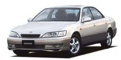 Автомобильные коврики EVA Toyota Windom XV20, правый руль (1996-2001)