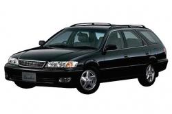 Автомобильные коврики EVA Toyota Mark II GX100 Qaulis 4WD, универсал, правый руль (1996-2000)