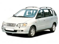 Автомобильные коврики EVA Toyota Picnic I (1996-2001)