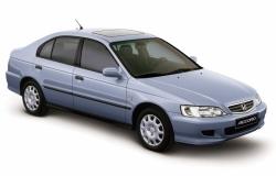 Автомобильные коврики EVA Honda Accord VI правый руль (1997-2002)