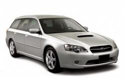 Автомобильные коврики EVA Subaru Legacy IV BP универсал (2003-2009)