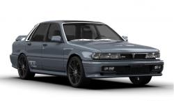 Автомобильные коврики EVA Mitsubishi Galant VI (1987-1992)
