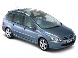 Автомобильные коврики EVA Peugeot 307 универсал (2001-2008)