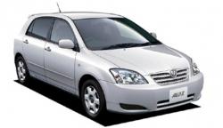 Автомобильные коврики EVA Toyota Allex FWD, правый руль (2001-2006)