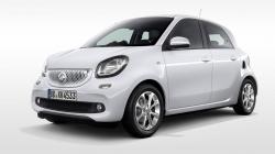 Автомобильные коврики EVA SMART ForFour II (2014->)