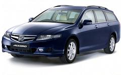 Автомобильные коврики EVA Honda Accord VII универсал (2002-2008)
