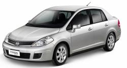 Автомобильные коврики EVA Nissan Tiida I C11 седан (2004-2013)