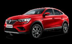 Автомобильные коврики EVA Renault Arkana I 4WD (2019->)