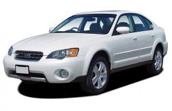 Автомобильные коврики EVA Subaru Outback III, правый руль (2003-2009)