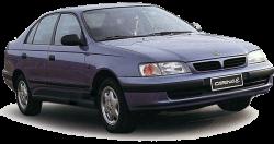 Автомобильные коврики EVA Toyota Carina E седан (1992-1998)
