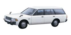 Автомобильные коврики EVA Toyota Crown VIII S130 универсал, правый руль (1987-1991)