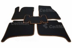 Автомобильные коврики EVA Volkswagen Touareg II 4-ёх зонный климат контроль (2010-2018)