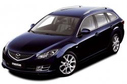 Автомобильные коврики EVA Mazda 6 II GH универсал (2007-2012)