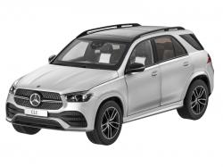 Автомобильные коврики EVA Mercedes-Benz GLE V167, 5 мест (2018->)
