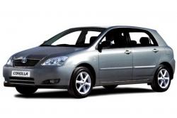 Автомобильные коврики EVA Toyota Corolla IX E120 хетчбек, правый руль (2000-2006)