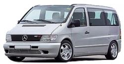 Автомобильные коврики EVA Mercedes-Benz Vito I W638 (1996-2003)