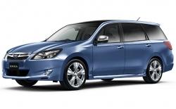 Автомобильные коврики EVA Subaru Exiga, правый руль (2008->)
