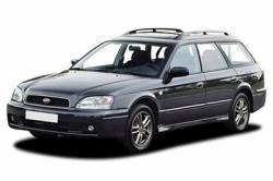 Автомобильные коврики EVA Subaru Legacy III универсал (BH) (1998-2003)