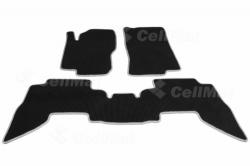 Автомобильные коврики EVA Nissan Pathfinder III R51 рестайлинг 7 мест (2010-2014)