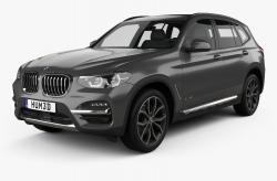Автомобильные коврики EVA BMW X3 G01 (2018->)
