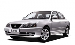 Автомобильные коврики EVA Hyundai Elantra III XD/XD2, правый руль (2000-2010)
