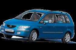 Автомобильные коврики EVA Mazda Premacy I CP, левый руль (1999-2005)