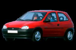 Автомобильные коврики EVA Opel Corsa B 3d хэтбек (1993-2000)