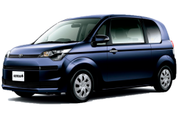 Автомобильные коврики EVA Toyota Spade FWD (2012->)
