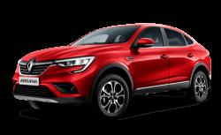 Автомобильные коврики EVA Renault Arkana I FWD (2019->)