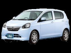 Автомобильные коврики EVA Daihatsu  Mira e:S I, правый руль (2011-2017)