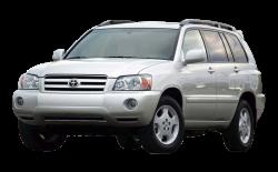Автомобильные коврики EVA Toyota Highlander I рестайлинг (2003-2007)