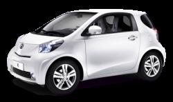 Автомобильные коврики EVA Toyota iQ, правый руль (2008-2011)