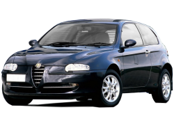 Автомобильные коврики EVA Alfa Romeo 147 хэтчбек 3D (2000-2010)
