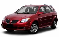 Автомобильные коврики EVA Pontiac Vibe I 4WD (2002-2008)