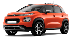 Автомобильные коврики EVA Citroen C3 Aircross (2017->)