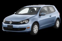 Автомобильные коврики EVA Volkswagen Golf VI хэтчбек 3D (2008-2012)